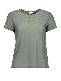 Jacqueline de Yong T-shirt DYTAG S/S LACE TOP JRS RPT2 NOOS 15152331 Agave Green