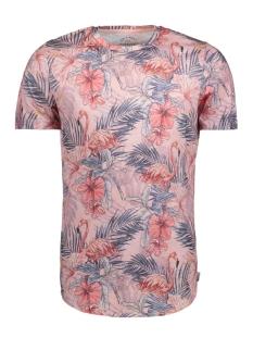 Jack & Jones T-shirt JORFLORAS TEE SS CREW NECK NE 12136062 Silver Pink