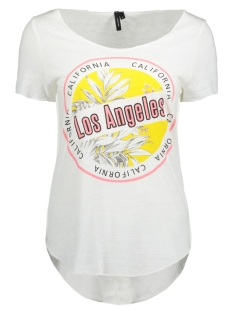 Vero Moda T-shirt VMGENE LUA SS TOP BOX JRS 10196084 Bright White/LOS