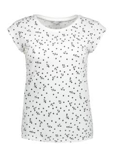 Only T-shirt onlBONE LIVA S/S AOP T-SHIRT JRS 15159592 White/DOTS