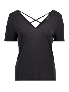 Object T-shirt OBJGABBIE S/S TOP 96 23026302 Black