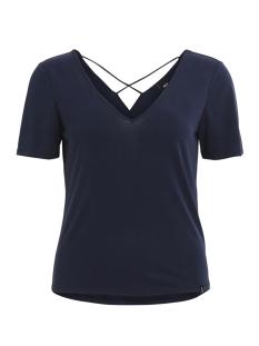 Object T-shirt OBJGABBIE S/S TOP 96 23026302 Mood Indigo