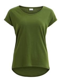 Vila T-shirt VIDREAMERS PURE T-SHIRT-FAV 14043506 Chive