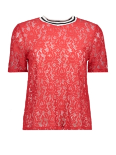 Only T-shirt onlGWENNY 2/4 TOP BOX JRS 15153422 Flame Scarlet
