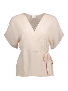 Vila Blouse VISHADINA S/S COVER UP 14046043 Peach Blush