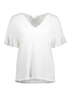 Vila T-shirt VICLORIA TOP 14045791 Cloud Dancer