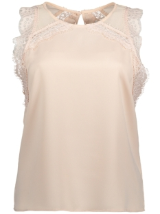 Vila Top VIOCCASION LACE TOP 14045850 Peach Blush
