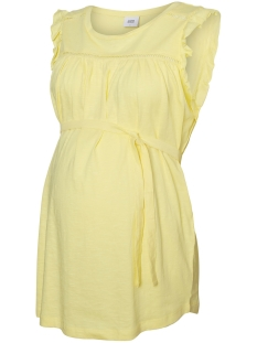 Mama-Licious Positie shirt MLIMAN S/L JERSEY TANK TOP A. 20008423 Lemonade