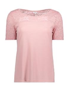 Jacqueline de Yong T-shirt JDYKIMMIE S/S LACE TOP JRS EXP 15159930 Zephyr/DTM LACE