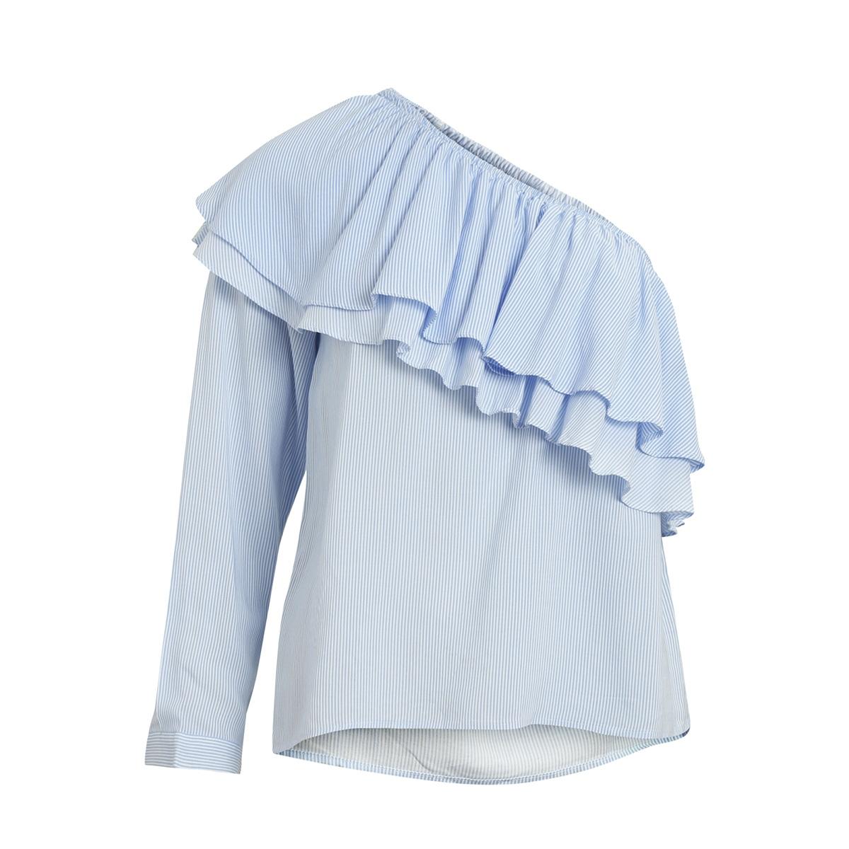 objrachel one shoulder top 96 23026531 object t-shirt gardenia