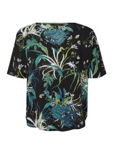 Vero Moda T-shirt VMSIMPLY EASY VISC SS TOP 10194033 Black/ANASTACIA