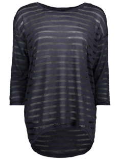 Only T-shirt onlDIANNA ELCOS 3/4 TOP JRS 15161231 Night Sky