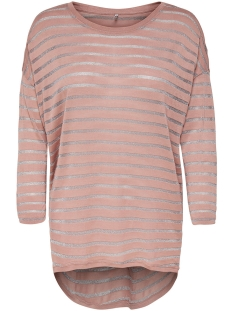 Only T-shirt onlDIANNA ELCOS 3/4 TOP JRS 15161231 Misty Rose