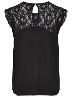 onlkarmen s/l top wvn noos 15157657 only t-shirt black