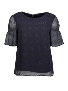 Vero Moda T-shirt VMMAGGIE 2/4 TOP 10196066 Night Sky