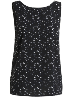 Pieces Top PCINEA SL TOP PB 17087228 Black/BLURRY DOT