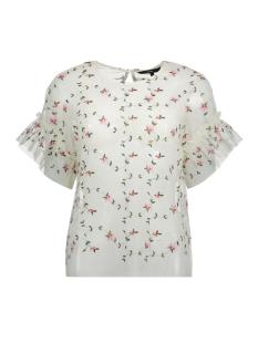Vero Moda T-shirt VMKELLY SS TOP 10198363 Pristine/ All over