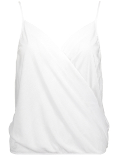 Only Top onlGEMMA WRAP SINGLET JRS 15156244 Bright White/SILVER COA