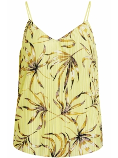 Vila Top VISOLANA STRAP TOP 14046754 Yellow Iris