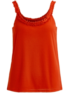 Vila Top VIVOULAN S/L TOP 14046849 Orange Com