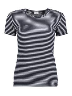 Jacqueline de Yong T-shirt JDYCHRISTINE S/S TOP JRS 15152111 Sky Captain/CLOUD DANCER