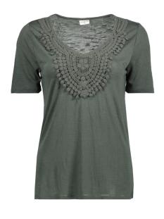Jacqueline de Yong T-shirt JDYDODO S/S TOP JRS 15154568 Castor Gray