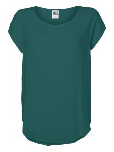 Vero Moda T-shirt VMBOCA SS BLOUSE COLOR 10104053 Bayberry