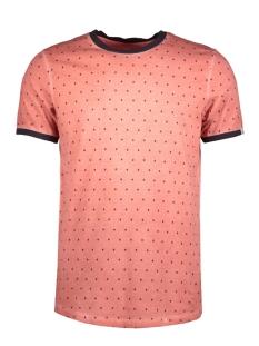 Jack & Jones T-shirt JORSUUS TEE MINI PRINT 12139134 Baked Apple