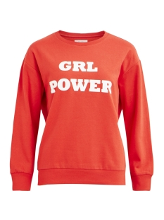 Vila Sweater VISNABB L/S SWEAT 14049535 Lollipop/Grl Pwr