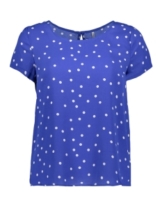 Only T-shirt onlRUBBI S/S TOP WVN 15163250 Dazzling Blue