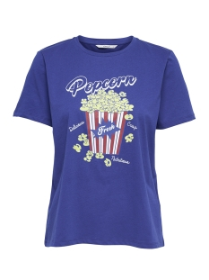 Only T-shirt onlPOP S/S T-SHIRT BOX JRS 15168445 Surf The Web/Popcorn