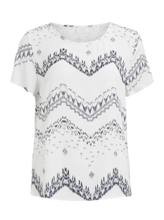 Vila T-shirt VICAVA S/S TOP-FAV 14043504 Cloud Dancer/VIMARULA