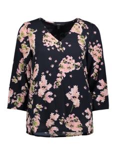 Vero Moda T-shirt VMADINA POL 3/4 MIDI TOP D2-4 10198643 Night Sky/ADINA PRINT