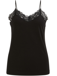 Object Top OBJLEENA LACE SINGLET NOOS 23024956 Black