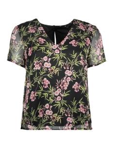 Vero Moda T-shirt VMKAY SS TOP 10198937 Black AOP/ELENA PRINT