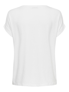 onlmoster s/s o-neck top noos jrs 15106662 only t-shirt white