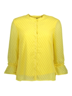 Vero Moda Blouse VMKIRA 3/4 TOP ATT 10204896 Cream Gold/ Jaquard Pa