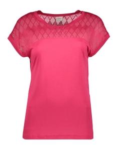 Jacqueline de Yong T-shirt JDYRENEE S/S LACE TOP JRS 15163551 Love Potion