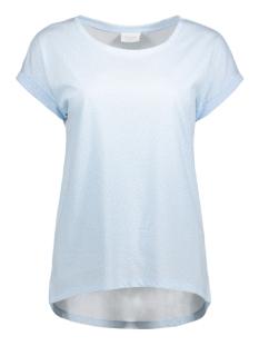 Vila T-shirt VIDREAMERS PURE T-SHIRT-LUX 14043668 Cahmere Blue/BRIENNE