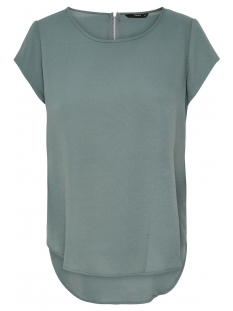 Only T-shirt onlVIC S/S SOLID TOP NOOS WVN 15142784 Balsam Green
