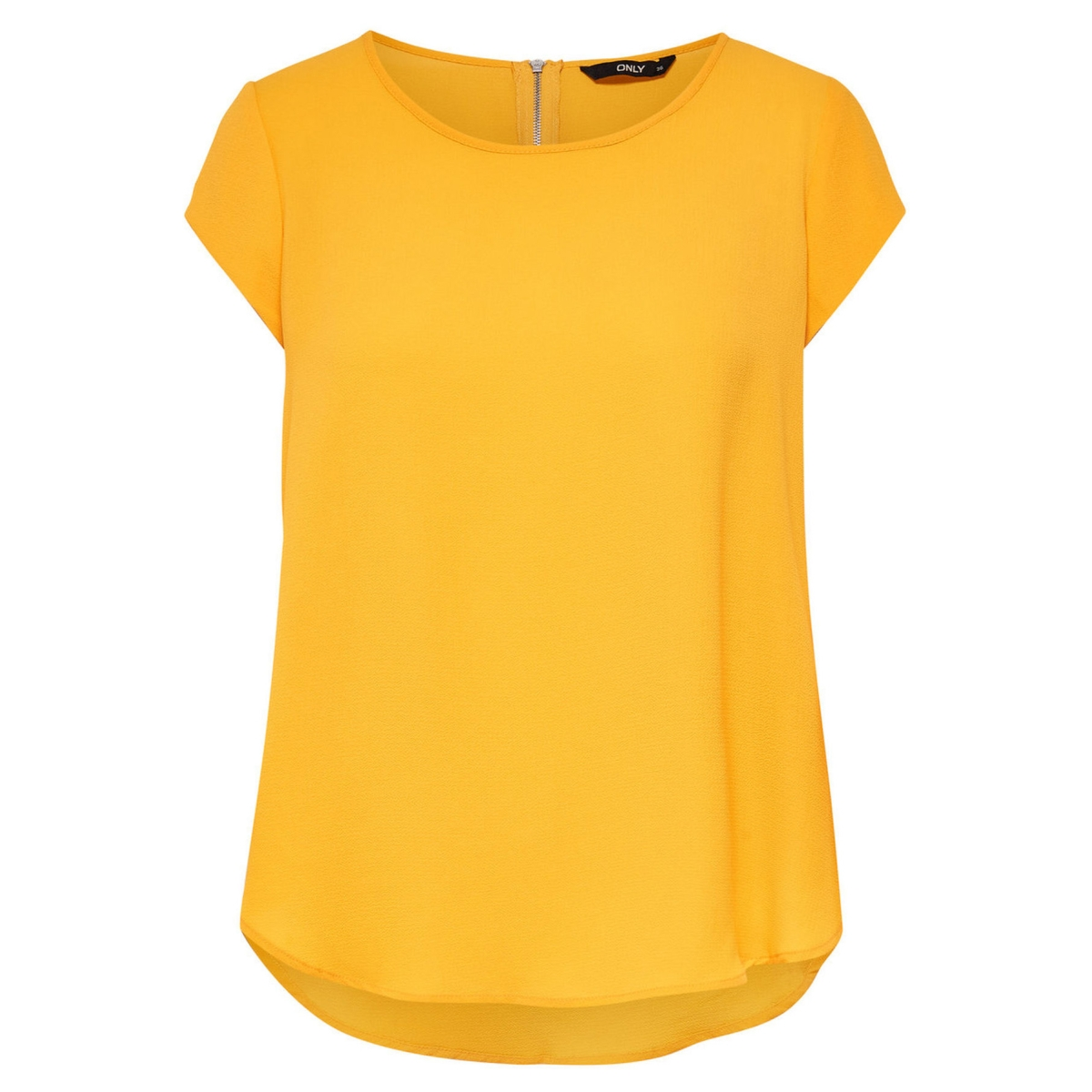 onlvic s/s solid top noos wvn 15142784 only t-shirt yolk yellow
