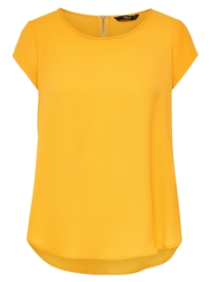 Only T-shirt onlVIC S/S SOLID TOP NOOS WVN 15142784 Yolk Yellow