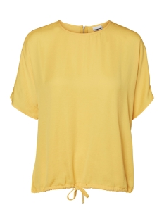 Noisy may T-shirt NMHEIDI S/S LOOSE  TOP 1 27001016 Lemon Chrome