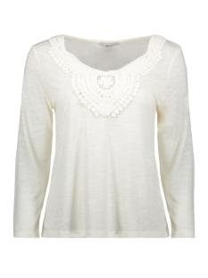 Only T-shirt onlISA 3/4 CROCHET TOP JRS 15157560 Cloud Dancer