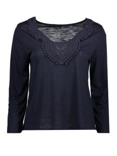 Only T-shirt onlISA 3/4 CROCHET TOP JRS 15157560 Night Sky