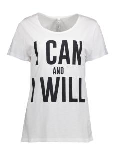 Zoso T-shirt I CAN WHITE/NAVY