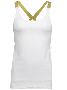 Smith & Soul Top 0518-0436 WHITER/GOLD