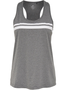 Only Play Sport top onpREBECCA TRANING TANK TOP 15149025 Medium Grey Melange/White