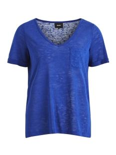 Object T-shirt OBJTESSI SLUB S/S V-NECK SEASONAL 23026968 Surf The Web