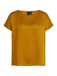 Object T-shirt OBJANNA S/S TOP PB4 23027021 Buckthorn Brown